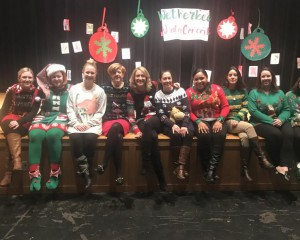 Wetherbee ugly sweater contest contestants