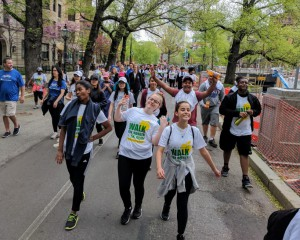Wetherbee Grade 8 Students Joined the Walk for Hunger on May 6, 2018
