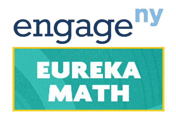 Engage NY logo above Eureka Math logo